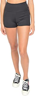 Stretch Is Comfort Girl's Stretch Performance High Waist Athletic Booty Shorts