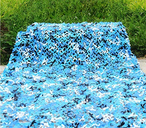 Camuflaje Aire Libre Red GR Red de camuflaje marino Tela de Oxford Jardín grande Fotografía urbana Acampar Decoración casera Observación de aves Cubrir Escenario de sombra Decoración Cubierta de coche