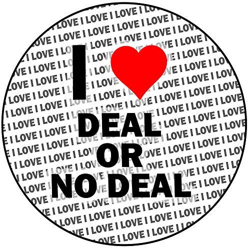 AK Giftshop i Love Deal or no Deal–rotondo 20,3cm glassa 20cm topper per torta decorazione
