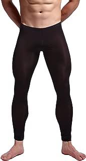 Men's Mesh Long Johns Slim Sexy Legging Tights