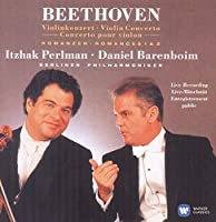 Beethoven: Violin Concerto; Romances by Itzhak Perlman