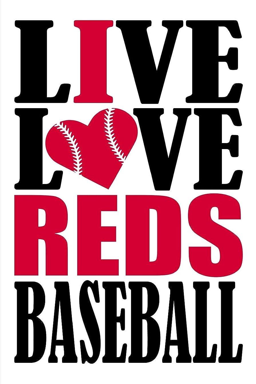 虎キャベツオークションLive Love Reds Baseball Journal: A lined notebook for the Cincinnati Reds fan, 6x9 inches, 200 pages. Live Love Baseball in black and I Heart Reds in red.