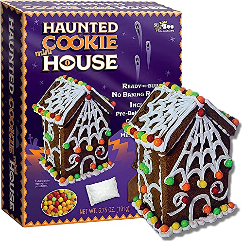 Halloween Bee Gingerbread Haunted Cookie House Kit - 6.75 Ounce Box