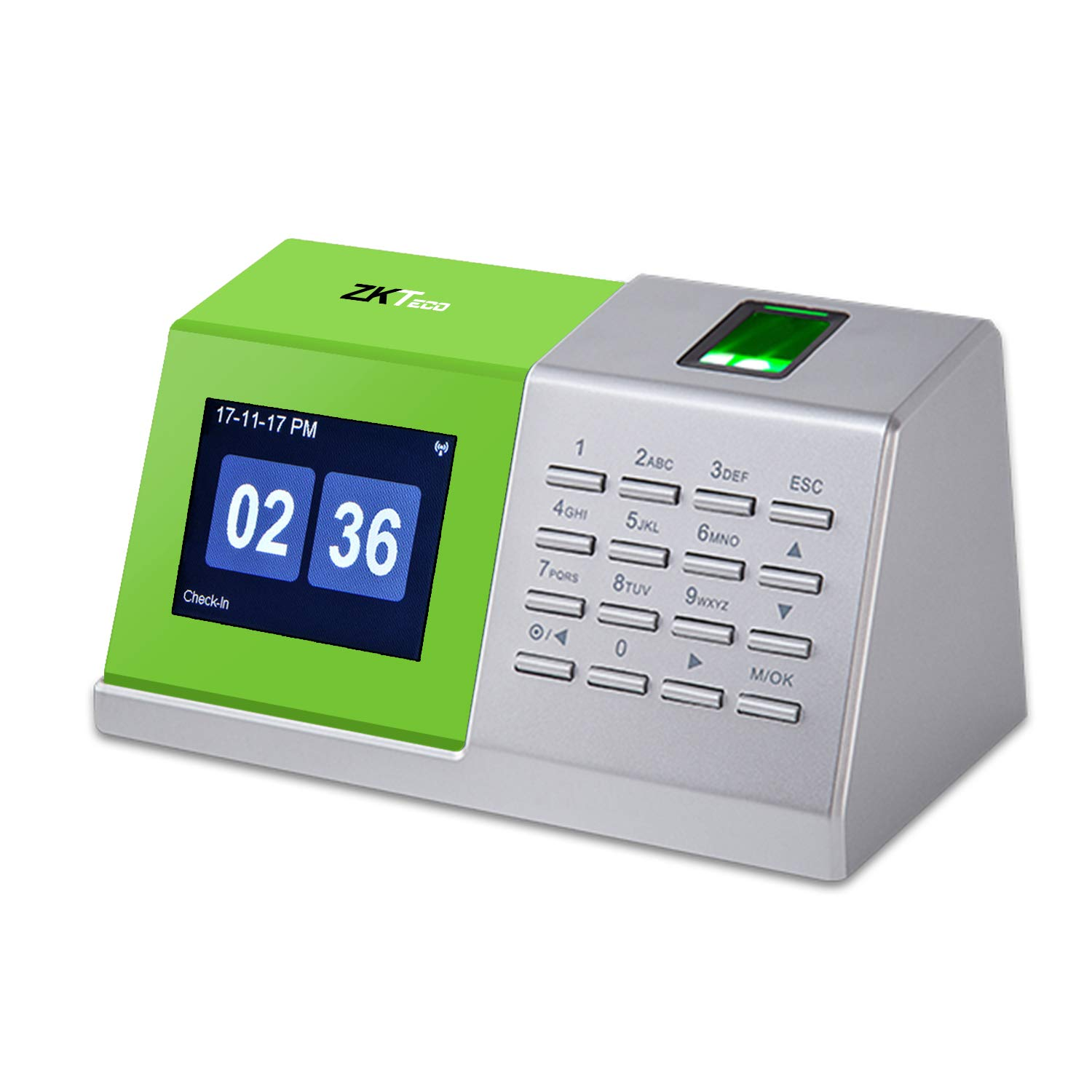 ZKTeco Fingerprint Attendance Time Tracking Installation