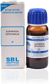 SBL Homeopathy Euphrasia Officinalis Mother Tincture Q (30 ML) by Qualityexport