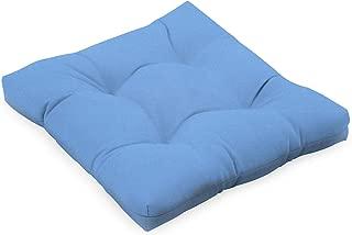 BBQGUYS Sunbrella Canvas Capri Small Outdoor Replacement Seat Cushion