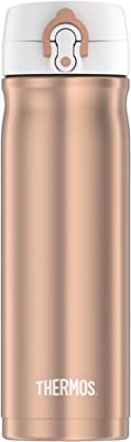 Thermos 16-Ounce Stainless Steel Direct Drink Double Wall Sport Bottle (Rose Gold)