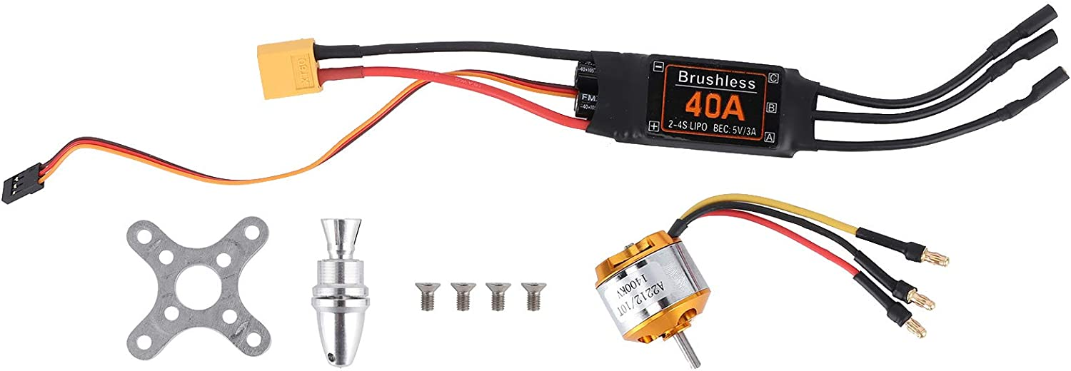 VGEBY Motor ESC Set RC Drone + 40A Brushless 2212 KV1400 We OFFer at cheap prices Max 85% OFF