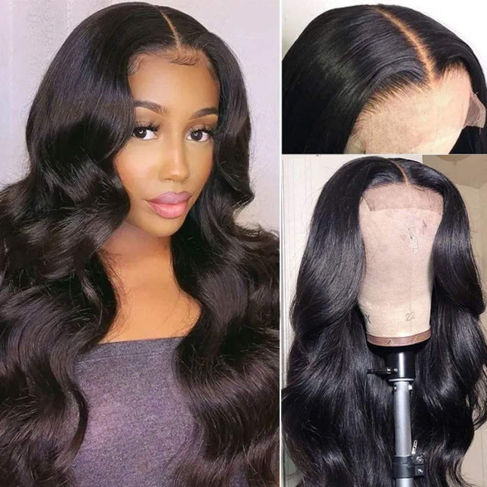 Body Wave Lace Front Wigs Human Max 61% OFF Plucked Pre Br Hair 150% Density Today's only