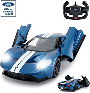 RASTAR RC Car | 1/14 Ford GT Remote Control RC Race Toy Car for Kids, Open Doors by Manual, Blue 12.6 x 5.9 x 3.15 inch blue CML-1023_Blue_27