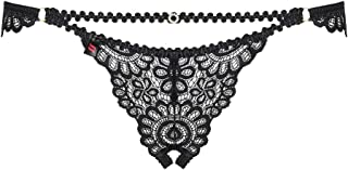 OBSESSIVE 867 Luxury Underwired Padded Bra and Crotchless Suspender Belt Set