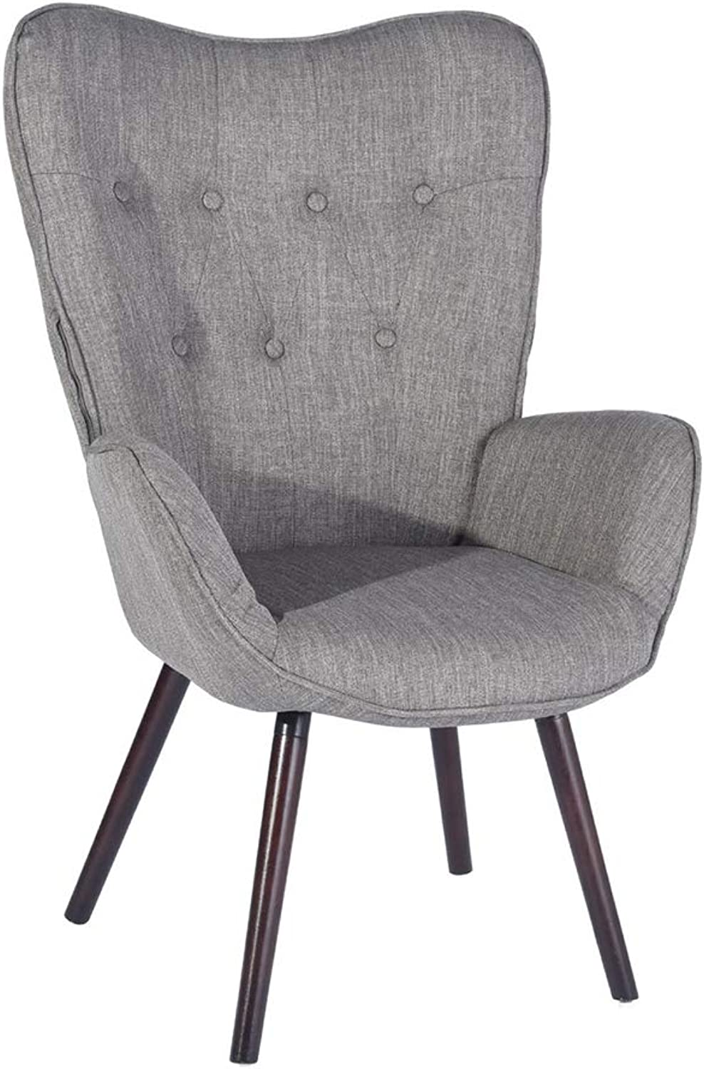 Upholstered Armchair Fabric Cover - Grey