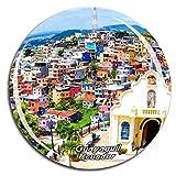 Weekino Guayaquil, Ecuador Imán de Nevera 3D de Cristal de Turismo de la Ciudad de Viaje Recuerdo de la Colección de Regalo Fuerte Etiqueta Engomada del refrigerador