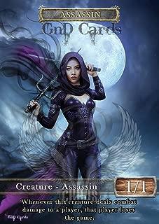 GnD Cards 3X Assassin #5 Custom Altered Tokens Khans of Tarkir (for Vraska, The Unseen)