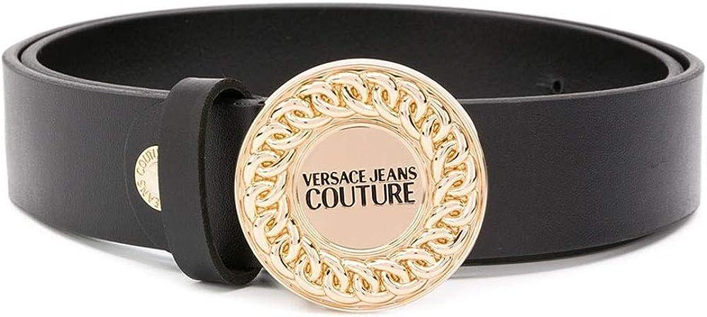 Versace jeans couture, cintura per  donna,in vera pelle F20 71449