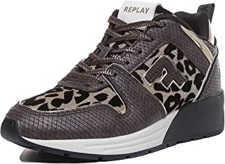 REPLAY Whiteville Lace Up Platform Trainer