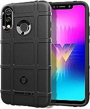 Mobile phone case Full Coverage Shockproof TPU Case for LG W30(Black) (Color : Black)