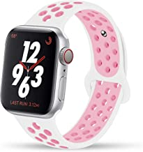 Best pink and white nike apple watch band Reviews