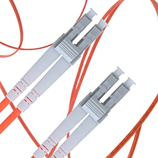 LC to LC Fiber Patch Cable Multimode Duplex - 1m (3.28ft) - 50/125um OM2 - Beyondtech PureOptics Cable Series
