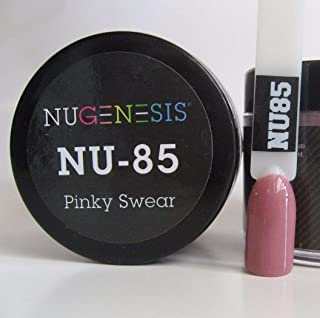 NUGENESIS Nail Color SNS Dip Dipping Powder NU 85 Pinky Swear 1.5oz/43g