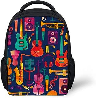 Sannovo Cartoon Print Small School Bag Kindergarten Toddler Baby Pre-k Backpack