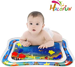 HALOFUN Inflatable Playmat, 26X20 Inflatable Tummy Time Premium Water mat for Infants and Toddlers