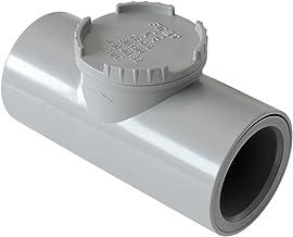 First Plast nrc40g terugslagklep van PVC om te lijmen, diameter 40 mm