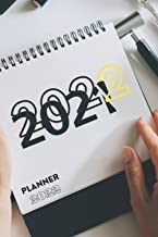 """Planner 2022: Weekly & Monthly Planner from Jan 2022 to Dec 2022, 6""""x 9"""", Planner 2022"""