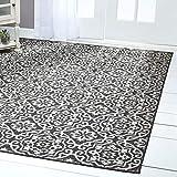 Home Dynamix 6681-480 Area Rug, 5'2'x7'2', Black/Gray