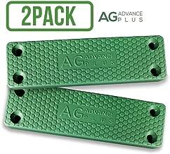 AG Magnetic Gun Holster Mount 2 Pack [45lbs Rated] Military Grade HQ Rubber Coated | Easy Conceal Gun Magnet in Car, Desk, Vault, Wall | Magnetic Holder for Handgun Rifle Pistol Revolver Shotgun