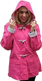 Apparel No. 5 Women's Hooded Toggle Rain Coat