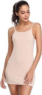 Full Slips for Under Dresses Women Adjustable Spaghetti Strap Cami Mini Dress Basic Camisole Slip