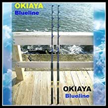 OKIAYA COMPOSIT 30-50LB Blueline Series Saltwater Big Game Roller Rod Set of 2