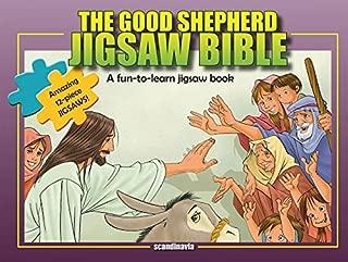Jesus, The Good Shepherd-Children Games-Jesus Christ Bible Puzzles-Bible Story Book for Children Jigsaw Puzzle Board Book-Happy Birthday Jesus-Jesus ... Cover (Jigsaw Bible)
