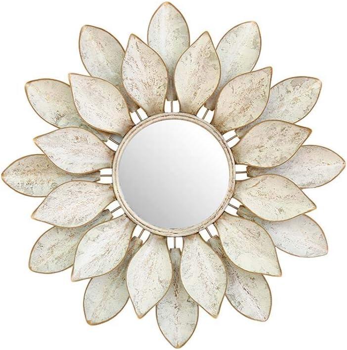 Qqhdm 30.7''Decorative Sale item Mirror Max 54% OFF Wall Iron Hanging Wrought W