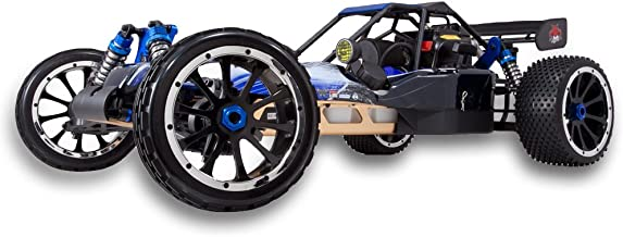 Redcat Racing Rampage DuneRunner V3 4x4 Gas Buggy (1/5 Scale), Blue/Black
