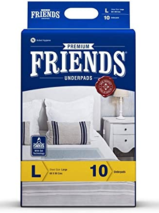 Friends Underpads Premium - Large (Pack of 10)