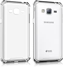 kwmobile Crystal case for Samsung Galaxy J3 (2016) DUOS TPU Silicone case with Corners' Protection - Slim Transparent Smartphone Protective case Cover in Transparent