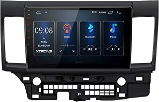 """XTRONS Android 10 Car Stereo for Mitsubishi Lancer 2007-2017, 10.1"""" IPS 2.5D Curved Touch Screen Head Unit Auto Radio Play..."""