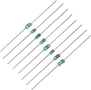 uxcell 120uH DIP Inductor 1//2W Axial Leaded Color Coated Inductance 25pcs