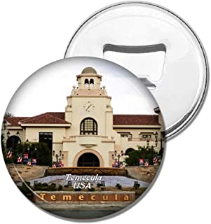 Weekino Fridge Magnets USA America Temecula Old Town Bottle Opener Beer Magnet Travel Souvenir Collection Gift