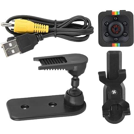 Mini Spy Hidden Camera Hd Hochwertige Mini Kamera Cam 1080p Sensor Leichte Nachtsicht Bewegungserkennung Für Indoor Outdoor Schwarz Baumarkt