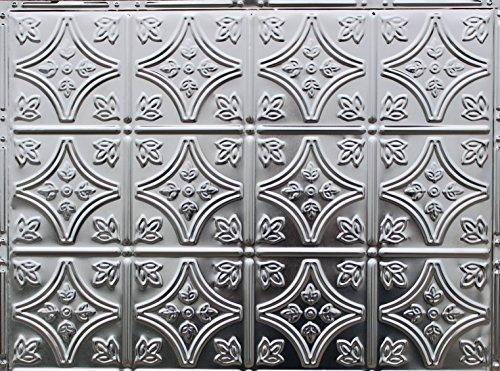 Metalceilingexpress 5 pcs of Tin Backsplash #103, 18' x 24' Clear...