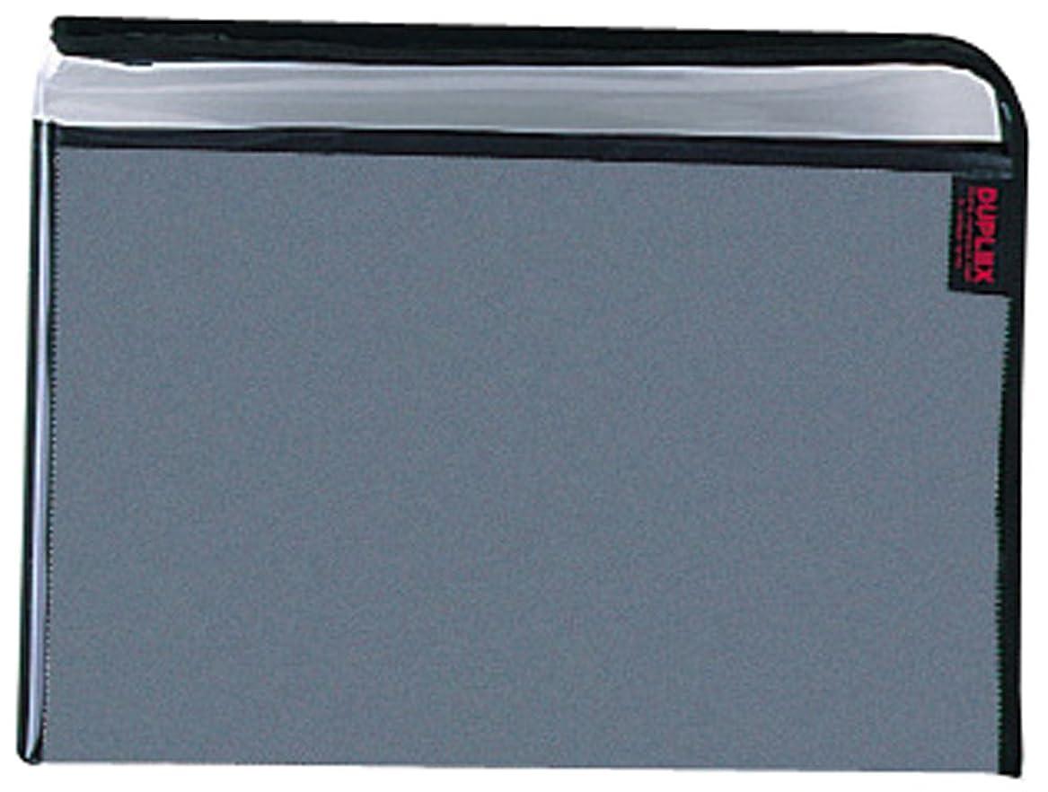 歪めるシソーラスカーペットクツワ マルチケース Dケース2 A4 ブラック MR010BK