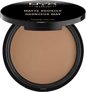 NYX Professional Makeup Matte Body Bronzer, Pressed Powder, Shimmer Free, Vegan Formula, Medium