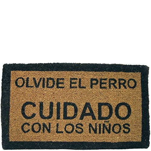 Laroom Felpudo, Yute, Marrón, 40 x 70 cm