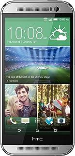 HTC One M8 Uk Sim Free Factory Unlocked Smartphone GLACIAL SILVER