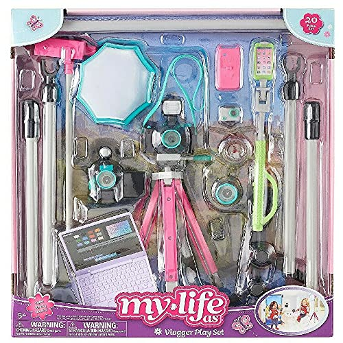 myLife Brand Products My Life As Doll Vlogger Playset