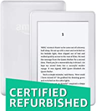 """Kindle Paperwhite (7th Gen), Certified Refurbished, Free 3G + Wi-Fi, White – 6"""" High Resolution Display with Built-in Ligh..."""
