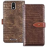YLYT Shockproof - Gold Flip Leather Luxury Cover With Stand